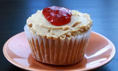 PB & J Cupcake