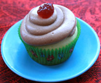 Peanut Butter and Jelly Cupcake