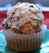 Monter Cookie Dough Cupcake