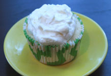 Pineapple Coconut Dream Cupcake