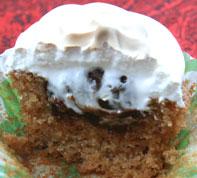 S'mores Cupcake inside