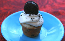 mini Cookies & Cream Cupcake