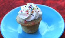 Mini Funfetti Cupcake