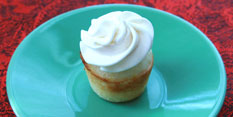 Mini Lemon Cloud Cupcake