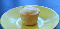 mini Pineapple Coconut Cupcake