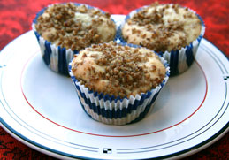 Apple-Steusel-Cupcakes