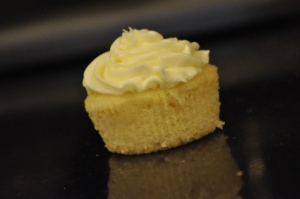 Lemon Cloud Cupcake