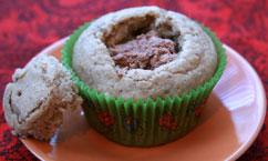 Cupcake filled
