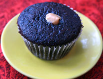 PB Filled Cupcake