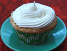 Sour Cream Fig Cupcakes