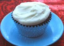 Chocolate Zucchini Cupcake