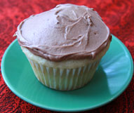 Vanilla Cupcake with Chocolate Buttercream