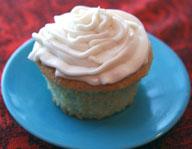 Sour Cream Vanilla Cupcake