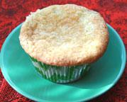 Sour Cream Fig Cupcake