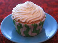 Iced-Tea-Cupcake with Lemon Frosting