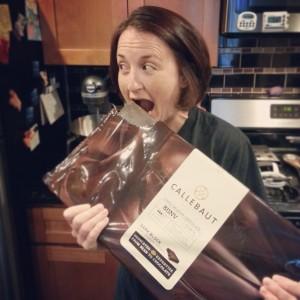 Big ole bar of chocolate