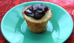 Mini Boston Cream Cupcake