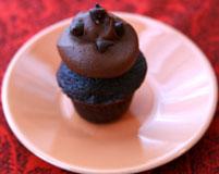 Mini Death by Chocolate Cupcake