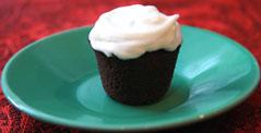 Mini Chocolate Coconut Rum Cupcake