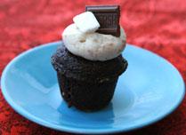 Mini-Smores-Cupcake