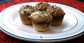 Mini-Streusel-Cupcake