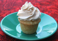 Mini-Vanilla Cupcake