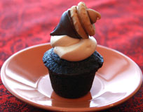 Mini-Vegan-Acorn-Cupcake