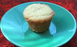 Mini Sour Cream Fig Cupcake