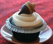 Vegan-Acorn-Cupcake