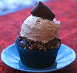 Chocolate-Toffee-Cupcake
