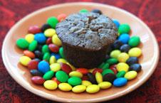 Mini-Brownie-Cupcake