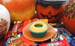 Cupcake-with-ooze-filling