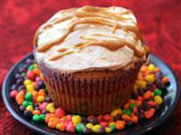 Fluffernutter-cupcake