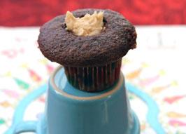 Mini filled cupcake