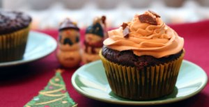 Butterfinger-Cupcake