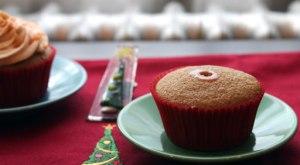 Butterscotch-filled-cupcake