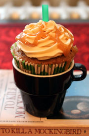 Caramel-Frap-Cupcake