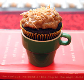 German-Chocolate-Cupcake