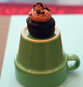Mini-Mint-Choc-Cupcake