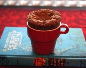 DC Oatmeal Cookie Cupcake