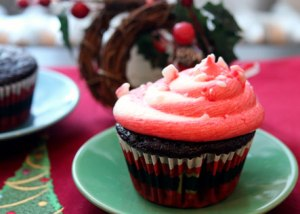 Candy-Cane-Cupcake