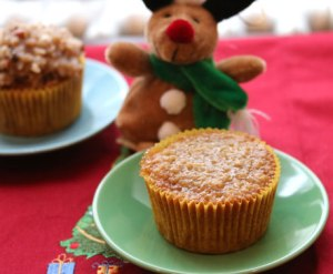 Oatmeal-Cupcake
