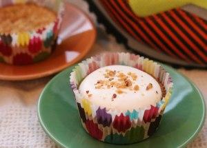 Amaretto-Almond-Cupcake