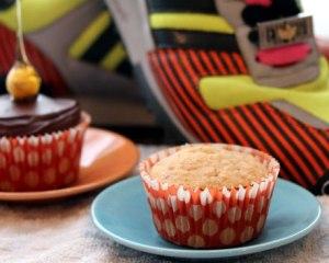Hazelnut-cupcake