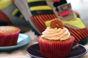 Pumpkin-Caramel-cupcake