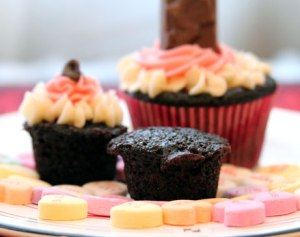 Mini-Chocolate-Cupcake