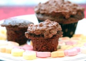 Mini-Double-Chocolate-Cupca