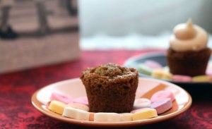 Mini-Ginger-cupcake